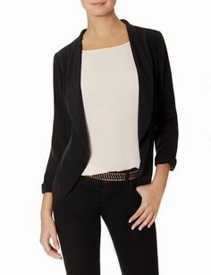 Open Front Jacket from THELIMITED.com #ItsTime #TheLimited-blazer