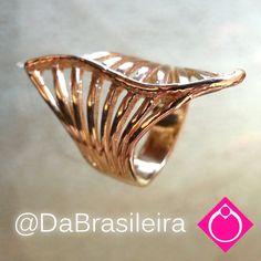Anel Leque Vasado  (Cod: AN15_0007) http://www.dabrasileira.com.br