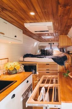 50 Amazing Camper Van Interior Ideas 50 Amazing Camper Van Interior Ideas Ann-Kathrin Hubrich Save Images Ann-Kathrin Hubrich Camper vans are getting more and more popular And its not a surprise why Having a camper van you are able to travel more often and spontaneous because you dont have to bother where you are going to sleep and how much you #amazing #camper #ideas #interior #vanlifeideas