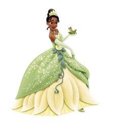 Princess Tiana and Prince Naveen as a Frog
