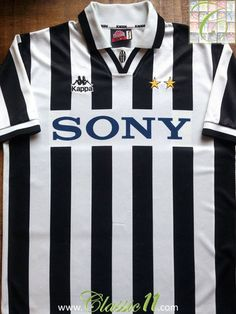 3f7dea17b63 Relive Juventus' 1996/1997 season with this vintage Kappa home football  shirt. Football