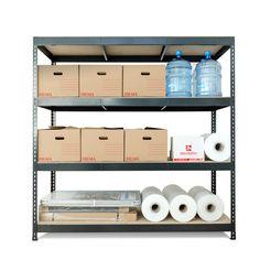 Estantería Metal + Madera 4B · BriCor · El Corte Inglés Lockers, Locker Storage, Cabinet, Furniture, Home Decor, Wood, Clothes Stand, Decoration Home, Room Decor