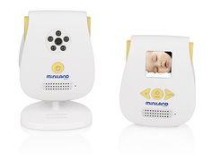 """vigilabebés digital video 1.4″   Miniland Baby:   Vigilabebés de audio y vídeo de tamaño reducido.   Alcance 300 metros.   Tecnología DECT sin interferencias  ECOTECH: con tecnología cero emisiones para que la unidad del bebé no emita ninguna radiación cuando está en reposo, consiguiendo además ahorrar energía.  Activación por sonido, sensibilidad ajustable.   Bidireccional para ver, escuchar y hablar con su bebé.   Pantalla LCD color de 1,4"""".   Seleccionables modo audio y vídeo o sólo…"""