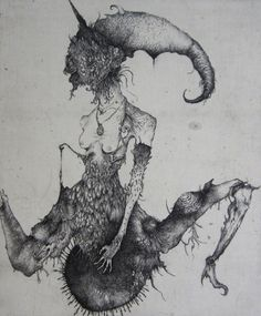 Macabre, detailed black and white illustrations by Ikuma Nao - Bleaq Arte Horror, Horror Art, Drypoint Etching, Chakra Art, Macabre Art, Art Sites, Sketch Inspiration, Black And White Illustration, Japanese Artists
