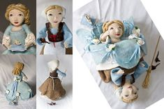 18-Topsy-Turvy-Cinderella--I love topsy-turvy dolls!  I suddenly want to make one for all the princesses: Rapunzel, The Goose Girl, etc.