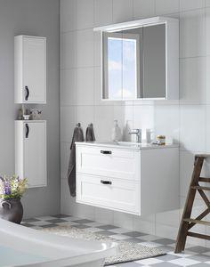 Stilrent eller klassisk baderom? - Byggmakker+ Double Vanity, Home Remodeling, Bathroom, Washroom, Bath Room, Double Sink Vanity, Home Renovations, Bath, Bathrooms