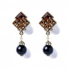 """""""Michelle's Majestic Mr. Elephante"""" Earrings - Heidi Exclusive - What's New   Heidi Daus Designs Official Site"""