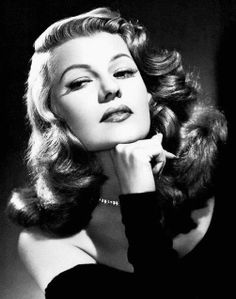 Absolutely love RITA HAYWORTH!! Amazing actress of her time.