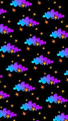 By Artist Unknown. Iphone 6 Wallpaper, Mood Wallpaper, Star Wallpaper, Butterfly Wallpaper, Locked Wallpaper, Wallpaper Pictures, Colorful Wallpaper, Screen Wallpaper, Galaxy Wallpaper