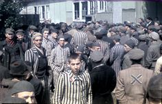 vintage everyday: Color Photographs of Life in The First Nazi Concentration Camp, 1933