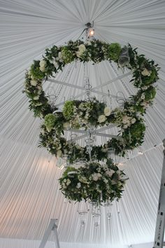 -crazy cool hanging floral suspended chandelier