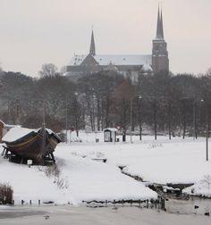 Roskilde in winter