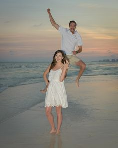 He asked, She said YES!!!! #DestinBeachPhotography #DestinFL #EngagementPortraits #SheSaidYes #Florida