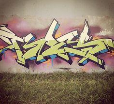 Graff Graffiti Piece, Graffiti Wall Art, Graffiti Tagging, Graffiti Alphabet, Graffiti Lettering, Street Art Graffiti, Mural Art, Graffiti Pictures, Street Mural