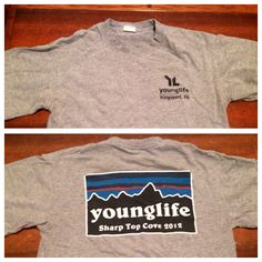 Young Life SharpTop Cove trip shirt. Another one of my favs!
