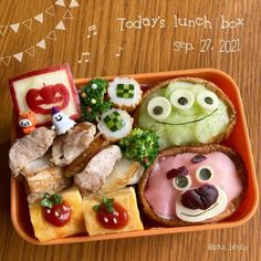Cute Bento Boxes, Waffles, Lunch Box, Mexican, Breakfast, Ethnic Recipes, Food, Morning Coffee, Essen