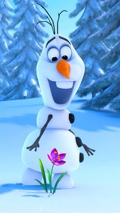 Olaf Yolo means you only love Olaf