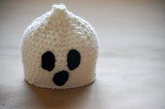 Crochet Ghost Hat