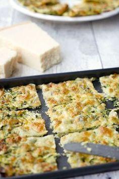 Schnelle und leckere Low Carb Zucchinisticks mit Mozzarella, Parmesan und Zucchini