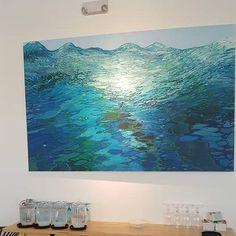 Effervescent Waves. Sold. Prints available through my website at http://ift.tt/2ix05Mv.  #coastalart #contemporaryart #waterreflections #seascape #waves #interiordesign #interiordecor #coastaldesign #coastalart #oceanreflections #oceanwaves #interiordesign #interiordecor #underwater #seascape #nauticalart #marinepainting #interiordecor #surf #oceanreflections #workingartist #margaretjuul