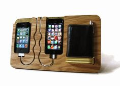 Iphone 4, 4s, 5, ipod touch, His & Hers Docking Valet