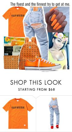 """""""Rage"""" by badleaa ❤ liked on Polyvore featuring Converse and AG Adriano Goldschmied"""