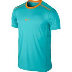 Nike Premier Rafa Crew Mens Dri-FIT Tennis Shirt 2XL Dusty Cactus 621055 388…
