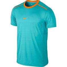 Nike Premier Rafa Crew Mens Dri-FIT Tennis Shirt 2XL Dusty Cactus 621055 388 #Nike #ShirtsTops