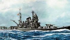 [New Paper Craft] WWII IJN Cruiser Tone Free Ship Paper Model Download at PaperCraftSquare.com