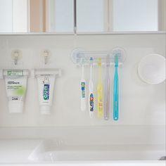 Organization Hacks, Apartment Living, Toothbrush Holder, Bathroom, Storage, Organize, Interior, Life, Bathing