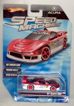 Hot Wheels 2009 Speed Machines RED/WHT '01 Acura NSX 1:64 Scale by Mattel. $11.99. Premium Wheels. 1:64 Scale. Hot Modern Cars. Deluxe Detailing