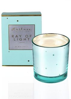Mrs Darcy Starluxe Ray of Light Candle Candle Store, Candelabra, Scented Candles, Calming, Cool Stuff, Blue, Candle Shop, Candlesticks, Candle Holders