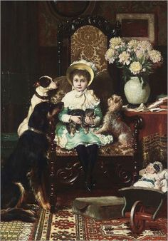 charles-trevor-garland-doddy-and-her-pets