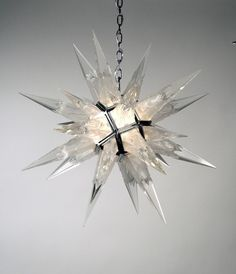 C. J. Weistein Star Pendant, 1930s. I'd like one so I could pretend that Superman's escape pod from Krypton was about to crash into my dining room table.