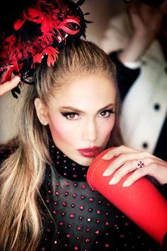<p>Jennifer Lopez by Ellen von Unwerth for Paper Magazine's Vegas Issue. Source: Paper Magazine</p>