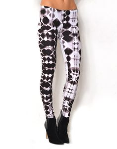 635705PR - TIE DYE* Printed Tights