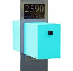 Retro Modern Mailbox by Retro Handmade Uniques - $595.00»