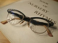 Vintage 1950's Eyewear Cat Eyes by Vintagicity on Etsy