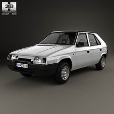 Skoda Favorit 1988 3d model from humster3d.com. Price: $75