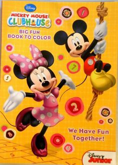 Mickey Mouse Clubhouse Coloring Book We Have Fun Together By Disney