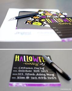 #Halloween Party Invitation