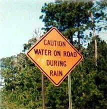 Obvious sign -