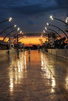 Brazil's Anhembi Sambadrome: Where the samba schools of São Paulo present their carnaval.