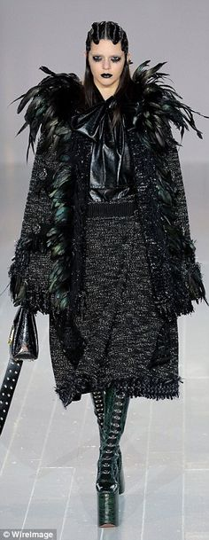 Big break: Kendall made her runway debut during the Marc Jacobs Fall 2014 show. The now-se...