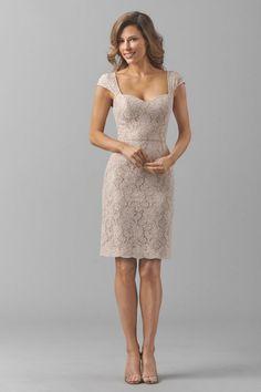 Watters Maids Dress Lauren Style 8252 | Watters.com