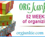 52 Weeks of Organizing Tips ~ This website is full of great organizational tips and tricks. 52 weeks, 52 projects.