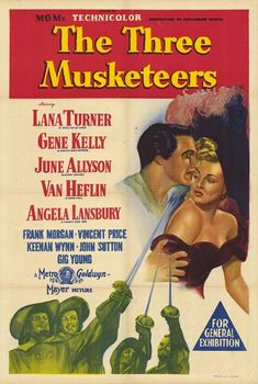 The Three Musketeers (1948) movie poster