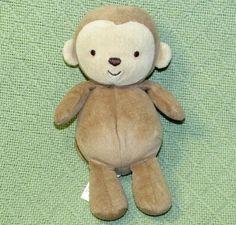 "TY Beanie Babies /""WOODY/"" Soft Plush Brown Bear w// Plaid Ribbon 7.5/"" 2002 NEW"