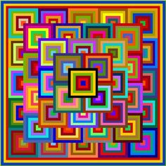 Patchwork quilt patterns by Quilt-Addicts by quiltaddictspatterns Patchwork Quilt Patterns, 3d Quilts, Scrappy Quilts, Quilting Projects, Quilting Designs, Rainbow Quilt, Quilt Modernen, String Quilts, Log Cabin Quilts