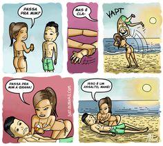 Satirinhas - Quadrinhos, tirinhas, curiosidades e muito mais! - Part 57